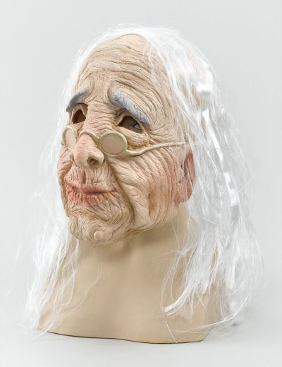 Old Woman Mask & Hair