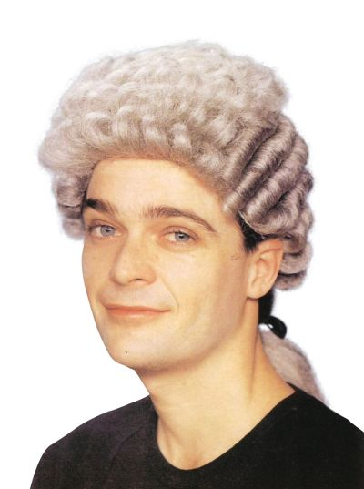 Barrister Wig. Grey