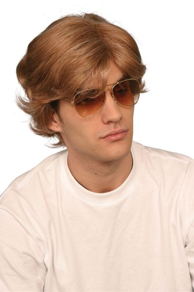 George Michael 80s Male Wig