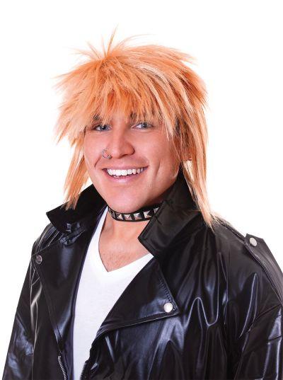 Spikey Wig. Male Blonde