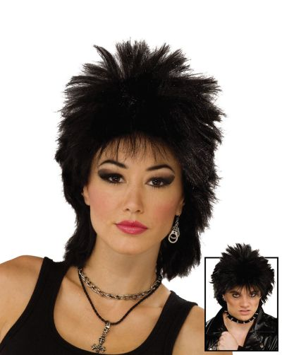 80s Rock Idol. Black