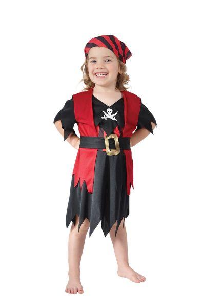 Pirate Girl Toddler