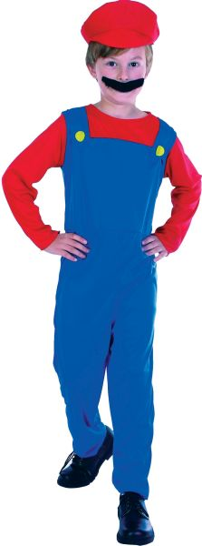 Plumber's Mate Boy Costume Medium