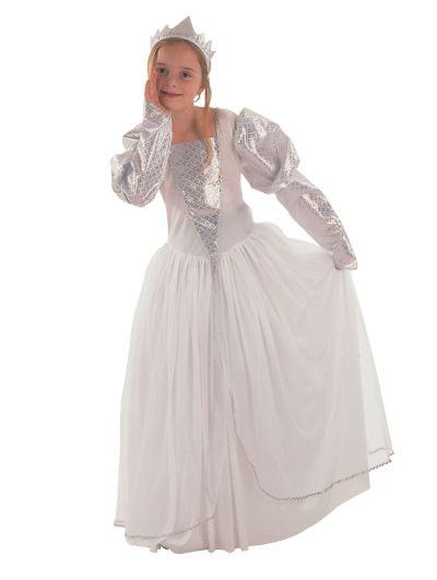 Childs White Princess Costume