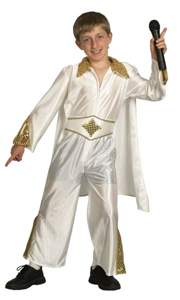 Childs Rock Star/Elvis Costume