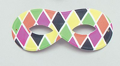 Harlequin Mask Small