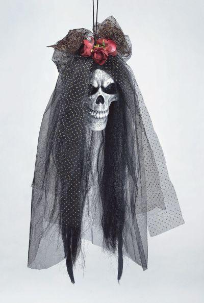Skull Bride Head Prop