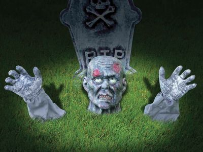 Zombie Ground Breaker Outdoor Decoration