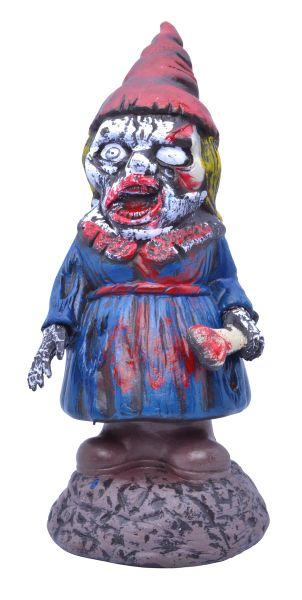Female Zombie Gnome Prop