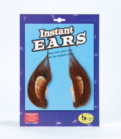 Instant Ears & Brown Hair