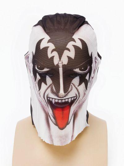 Tattoo Net Mask. Kiss Style