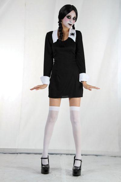 Ladies Creepy School Girl costume Thumbnail 1