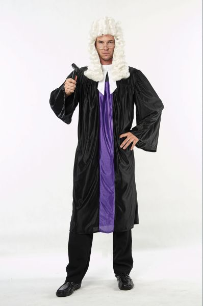 Adult Judge Gown Costume Thumbnail 1