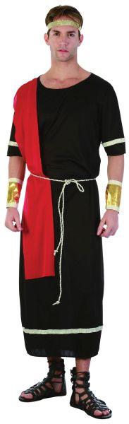 Adult Black Caesar Toga Costume Thumbnail 1