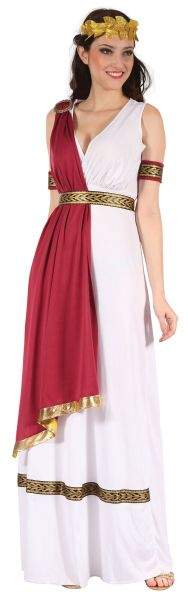 SALE! Adult Sexy Roman / Greek Goddess Toga Ladies Fancy Dress Hen Party Costume Thumbnail 1