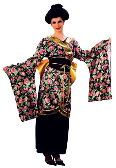 Adult Geisha Girl Costume Thumbnail 1