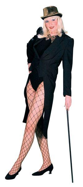 Female Tailcoat Black Thumbnail 1
