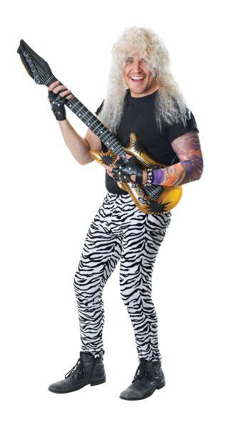 Mans Zebra Print Trousers Thumbnail 1