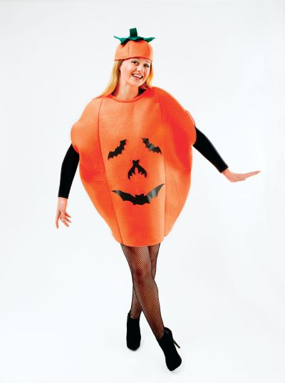Adult Unisex Pumpkin Costume Thumbnail 1