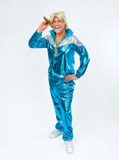 Mens Shell Suit Costume Thumbnail 1