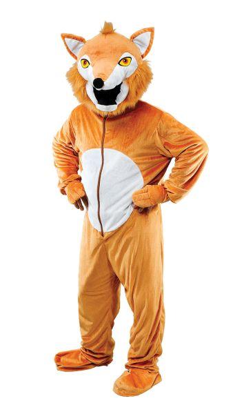 Adult Fox  Big Head Costume Thumbnail 1