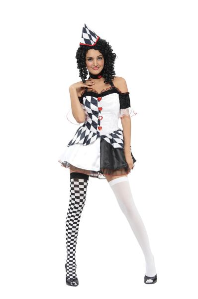 Adult Harlequin Female Costume Thumbnail 1