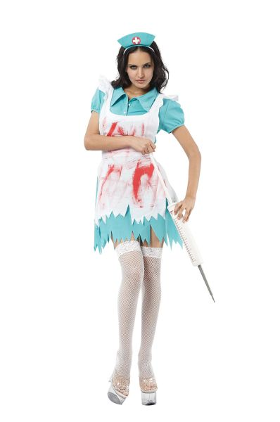 Adult Blood Splatter Nurse Thumbnail 1