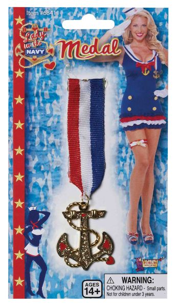 Lady in Navy Medal Thumbnail 1