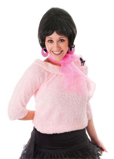 50S Pink Poodle Scarf Thumbnail 1