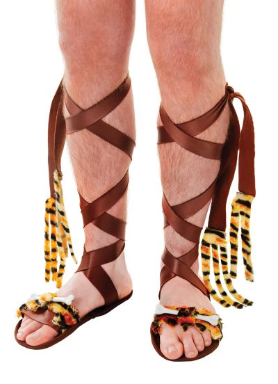 Adult Caveman Sandals Thumbnail 1