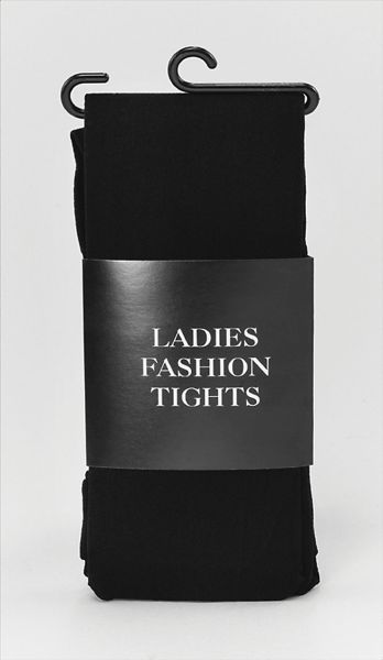 Tights. Ladies Black Thumbnail 1