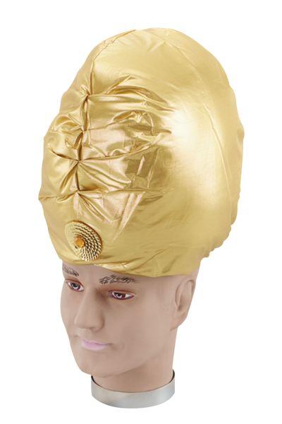 Genie Turban. Gold Thumbnail 1