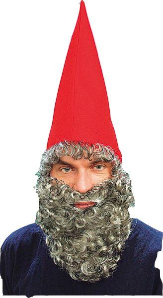 Dwarf Hat Red & Beard Thumbnail 1