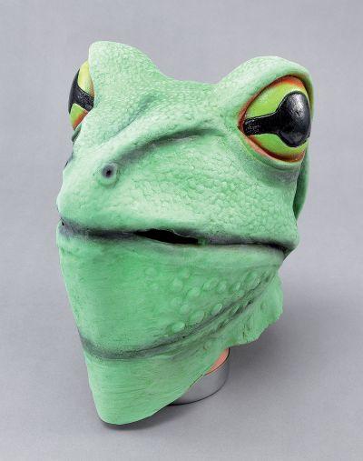 Frog Mask. Rubber Overhead Thumbnail 1
