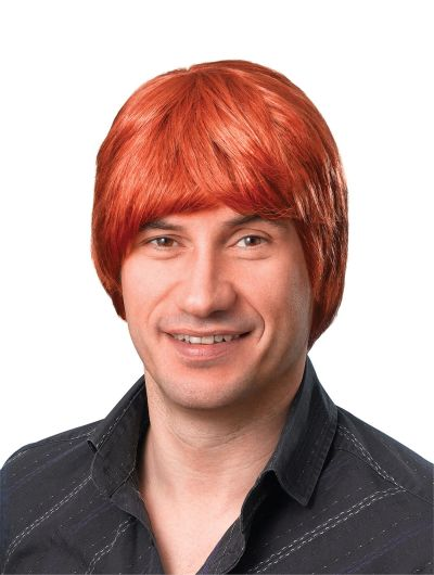 Male Wig. Short. Ginger Thumbnail 1