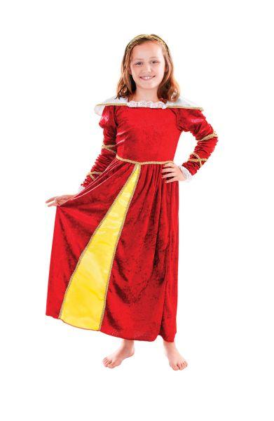 Childs Tudor Girl Costume Thumbnail 1
