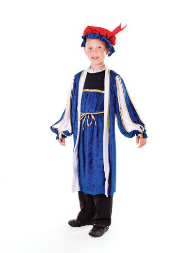 Childs Tudor Boy Costume Thumbnail 1