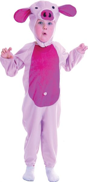 Pink Piggy Toddler Costume Thumbnail 1