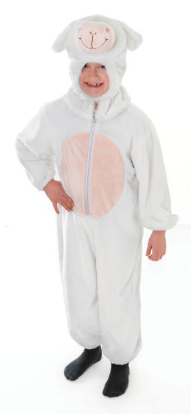 Childs Sheep Costume Medium Thumbnail 2