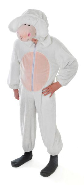 Childs Sheep Costume Medium Thumbnail 1