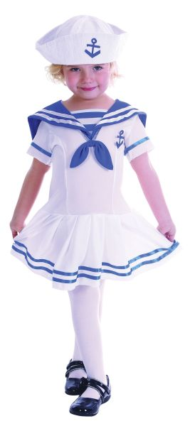 Sailor Girl ToddlerCostume Thumbnail 1