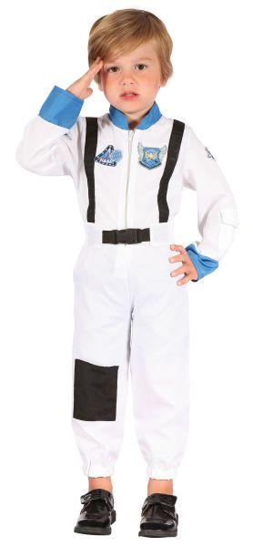 Child Spaceman Astronaut Space Suit Boys Book Fancy Dress Kids Toddler Costume Thumbnail 1