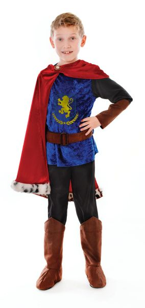 Childs Fantasy Prince Costume Thumbnail 1