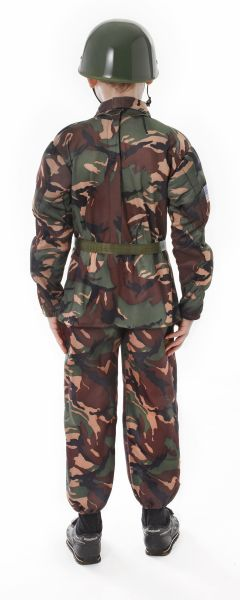 Childs Soldier Camouflage Costume Thumbnail 3