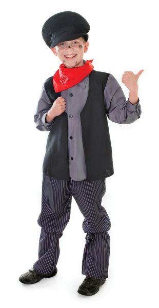 Childs Chimney Sweep Costume Thumbnail 1