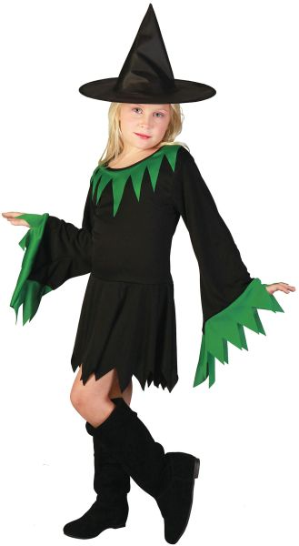 Childs  Witch Costume Thumbnail 1