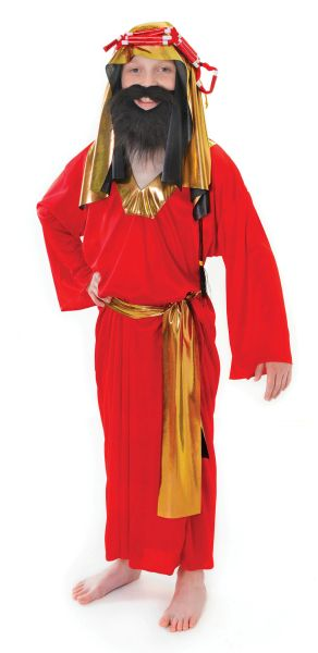 Childs Wise Man Red Costume Thumbnail 1