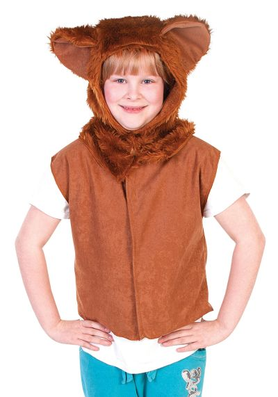 Childs Lion Fur Tabard Thumbnail 1