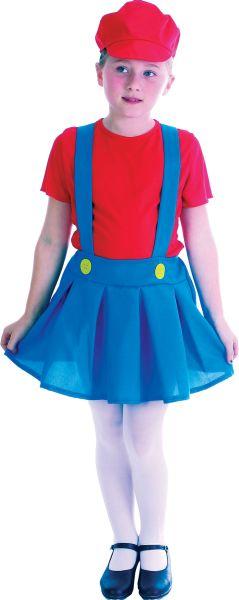 Plumber Girl Costume Thumbnail 1
