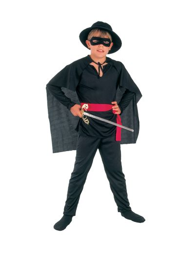 Childs Budget Bandit Costume Thumbnail 1